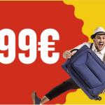 Voli low cost per 11 città europee a 10€ da Milano e Bergamo