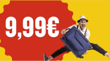 voli low cost a 10€ da Milano e Bergamo