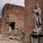 La Casa delle Vestali a Roma