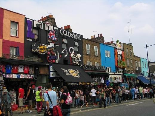 Mercatino di Camden Town Londra