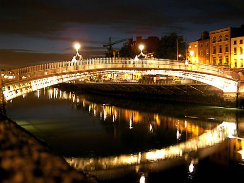 Half Penny Bridge Dublino