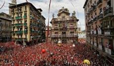 La festa di San Fermin a Pamplona