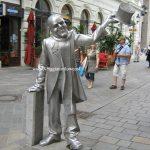 Le facce di bronzo di Bratislava!