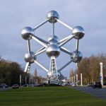 Una delle più belle strutture di Bruxelles: l'Atomium