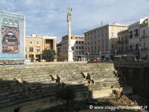 Anfiteatro Romano e Colonna di Sant'Oronzo Lecce
