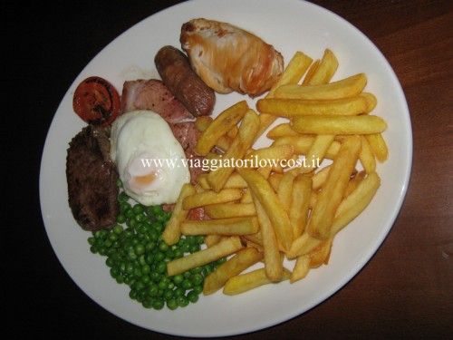 Traditional mixed grill