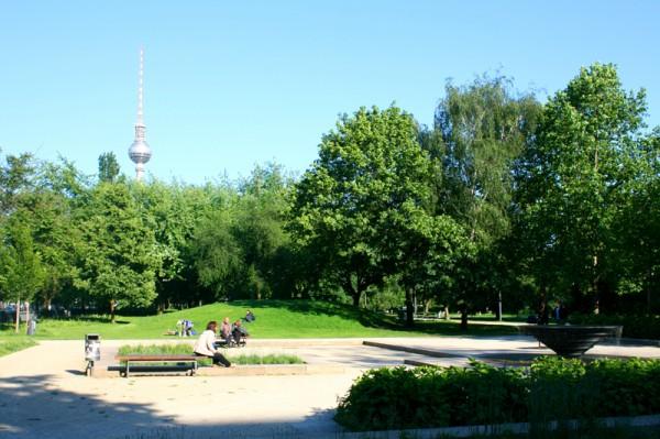Monbijou Park Berlino
