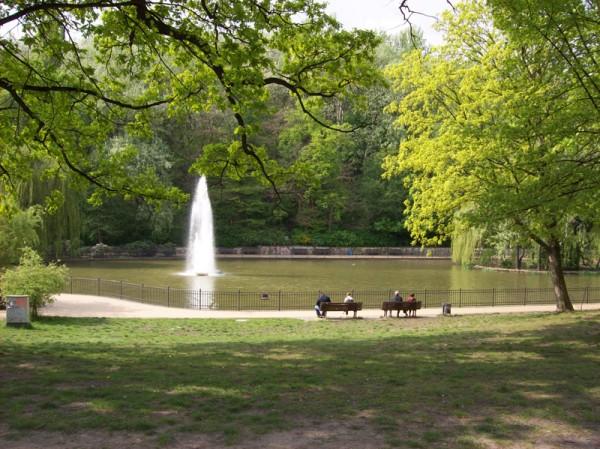 Volkspark Friedrichshain Berlino