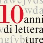 Festival delle letterature, decennale d'autore