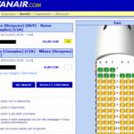 Ryanair introduce la selezione dei posti a bordo!