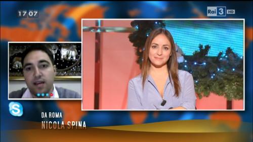 Nicola Spina in TV con Viaggiatori Low Cost