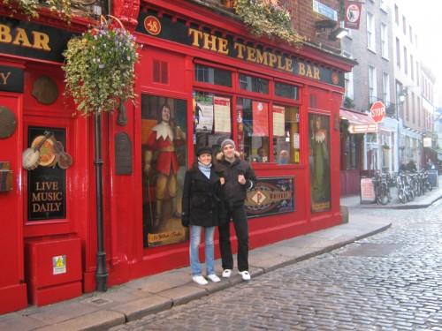 Nicola Spina e Rossella de Gennaro a Dublino