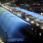 Lo spettacolare ponte fontana di Seul!