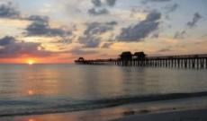 La spiaggia di Napoli in USA