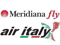 Logo Air Italy Meridiana Fly