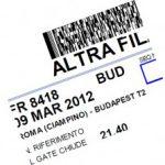 Problema salvataggio in pdf delle carte di imbarco Ryanair