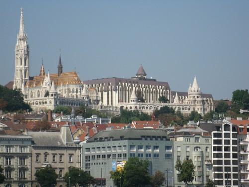 Chiesa di San Mattia e Bastioni dei Pescatori a Budapest