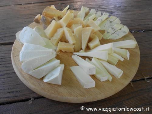 Antipasto di formaggi