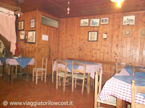 Una sala del Ristoro del Campanile a Casertavecchia