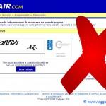 Ryanair elimina i codici captcha e migliora il sito!