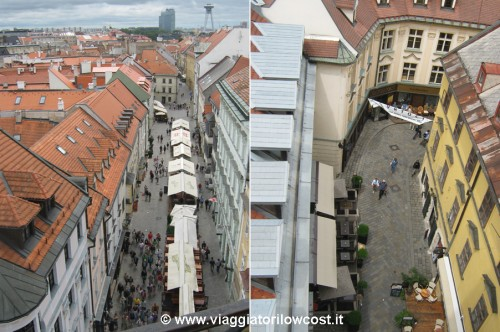 Bratislava visitare Torre di San Michele