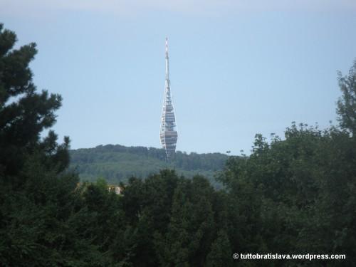 Bratislava visitare Torre Tv Kamzik