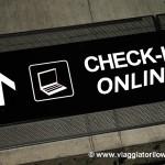 Consigli utili per fare il check-in online