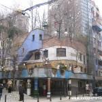 Hundertwasserhaus a Vienna nel quartiere Landstrasse