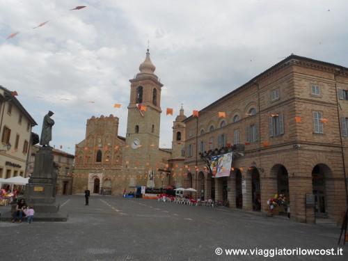 San Ginesio Piazza Gentili