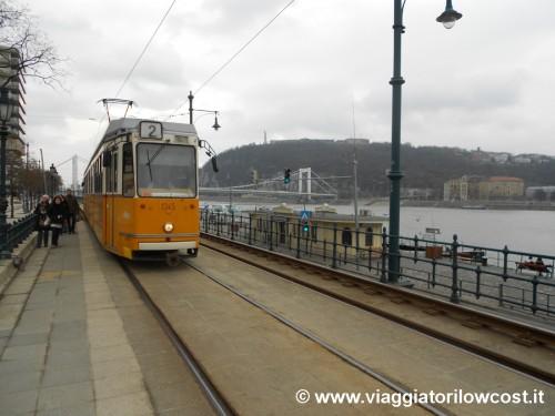 Cosa visitare a Budapest Tram numero 2