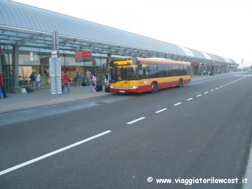 Come arrivare dall'aeroporto di Modlin a Varsavia