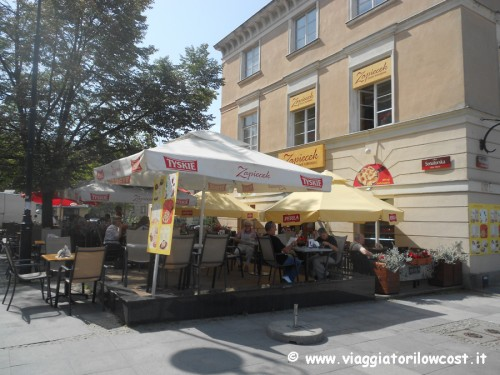 Zapiecek mangiare a Varsavia