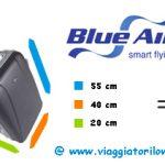 Bagaglio a mano Blue Air: aumenta il limite del peso!