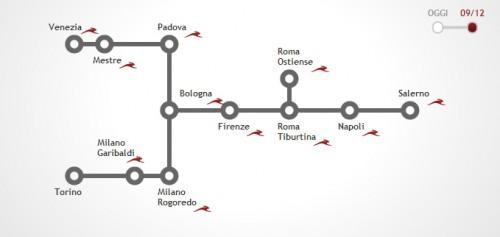 Italo Treno Milano Torino