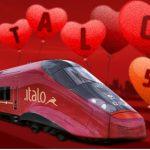 Codice Italo Treno per uno sconto del 50% a San Valentino