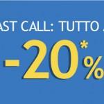 Voli per l'Italia e l'Europa a meno 20% per il 2013