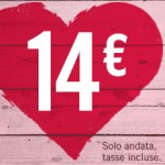 Volotea: Voli a 14€ per l'Italia e l'Europa per il 2013