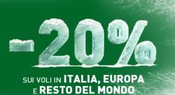 Promo Alitalia codice sconto