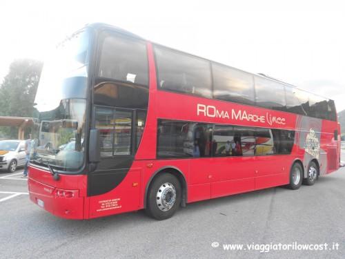 autobus Marche Roma Fiumicino