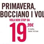 Voli a 19,99€ per viaggiare low cost in Italia nel 2013