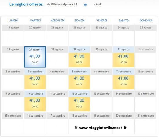 Voli low cost per la Grecia