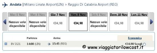 voli low cost nazionali