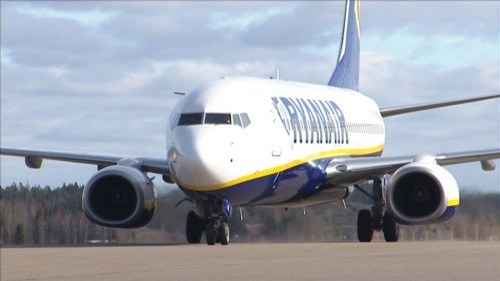 Ryanair a Varsavia Modlin