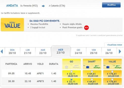 voli low cost per Sicilia