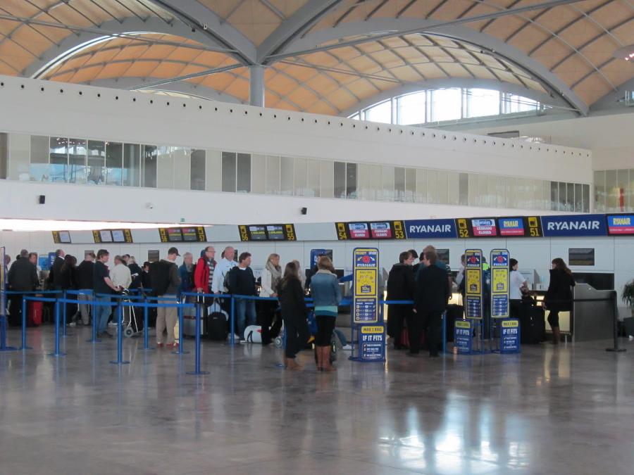 Аликанте аэропорт план