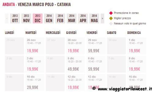 offerta voli a 19,99 euro