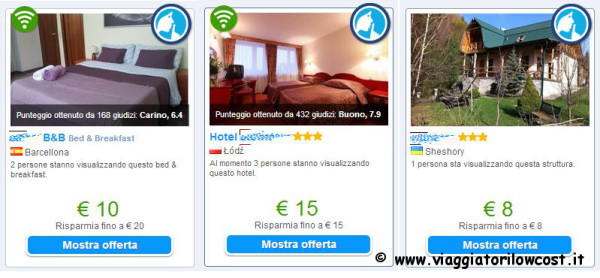 Hotel in Europa low cost