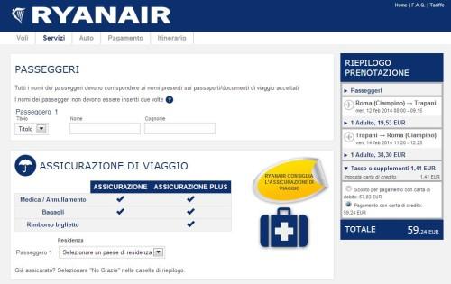 sito ufficiale Ryanair