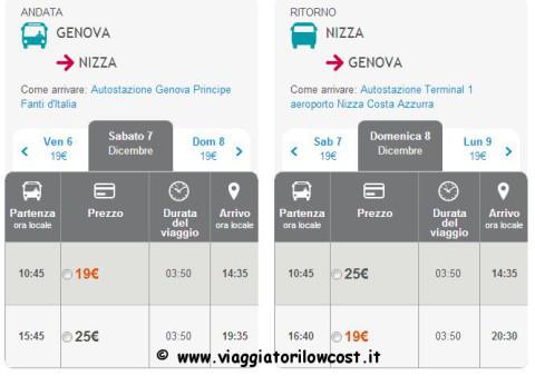 biglietti autobus low cost