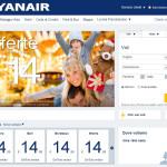 Sito ufficiale Ryanair: nuovo design e prenotazioni veloci!